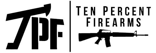 Ten Percent Firearms Retina Logo